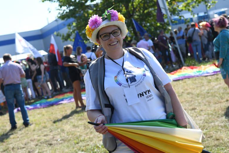 Monika Drubkowska inicjatorka i organizatorka Pierwszego Marszu Równości w Gorzowie Wlkp. Prezeska Fundacji Warto być równym Nad Wartą